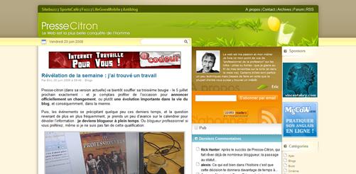 Je deviens blogueur professionnel - Presse-Citron_1213962835855