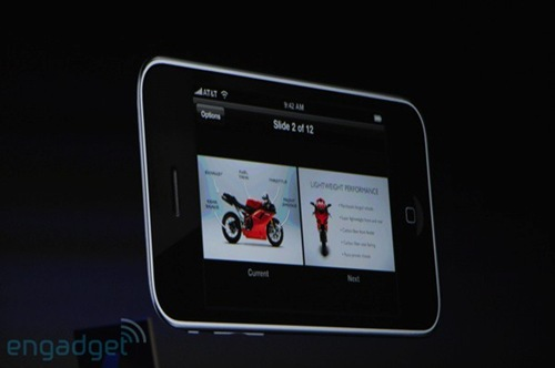 iPhone Remote - Keynote MacWorld