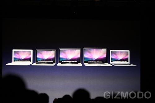 Nouveaux Macbooks