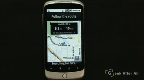 GPS Google Phone