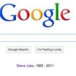 Soutien discret sur la page d'accueil de Google