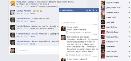 SFR - Facebook à l'étranger