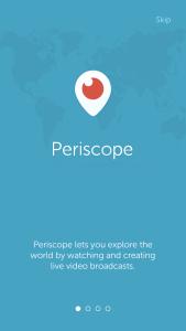 Periscope iOS app